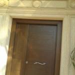 Acabado puerta de entrada