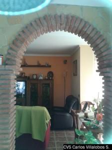 arcos de toscos con enchapados de piedra
