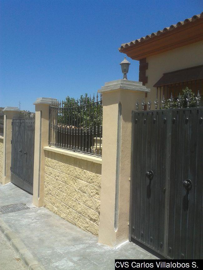 Muro de bloque de hormigon visto presupuesto obras m laga - Muros de hormigon ...